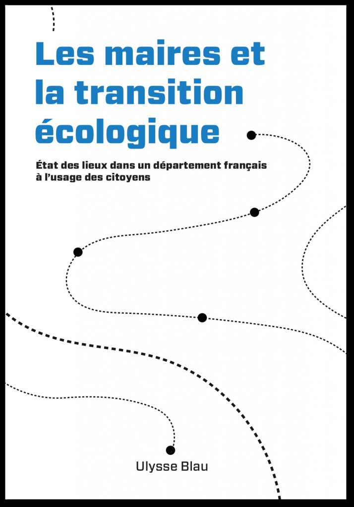 Livre les maires et la transition écologique Ulysse Blau