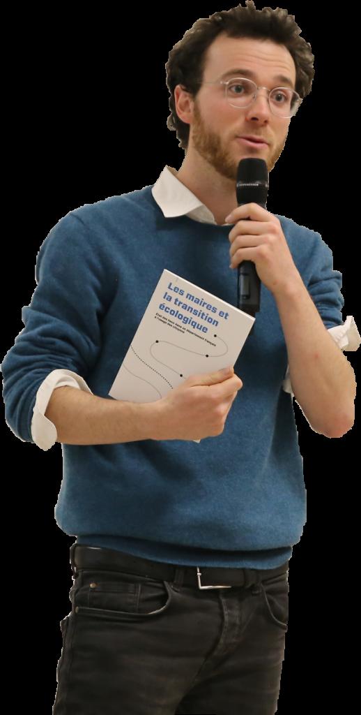 Ulysse Blau ingénieur en bioressources et facilitateur